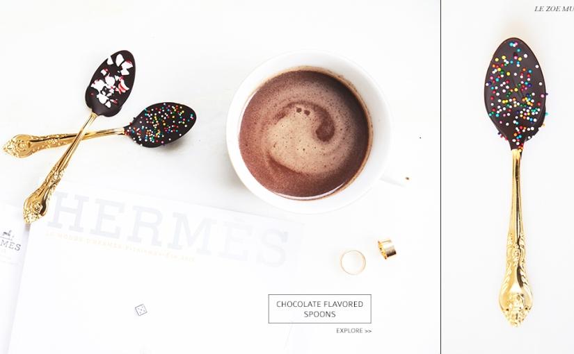 DIY: Chocolate FlavoredSpoons