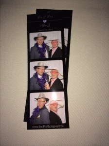 Crazy Photobooth.  A typical goofy time with my best friend.