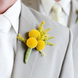 My inspiration photo for our boutonnières