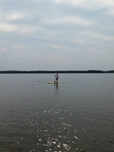 Had a great time paddle boarding!
