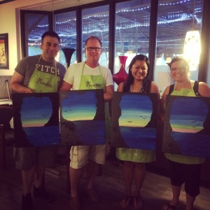 2nd Paint Nite of the Summer