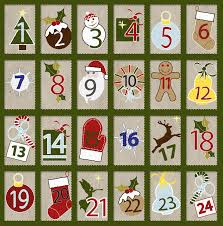 Advent Calendar.. I may need to create a 12 month version for our wait.